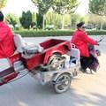 Ha lerobbant, valahogy haza kell vinni - kreatív shandongi nagyik triciklis trükkje