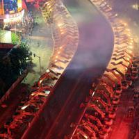 Közel száz munkagép tűntetett el egyetlen éjszaka alatt egy felüljárót Kínában