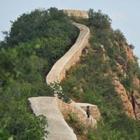 A kínai nagy fal egyik legszebb részét egyszerűen lebetonozták