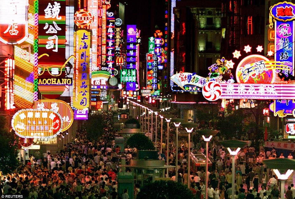 Sangaj, a Nanjing út