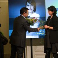 A ZTE a közönségdíj támogatójaként gratulál a Példaképeknek