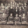 Csobánka,1929. június 18. Rohászka Ottokár Hadi árvaház - Polgáristák.