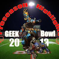 GEEK Bowl - Előszezon meccs jelentés