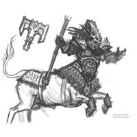 The Angry 56ers/ Bull Centaur konverzió 1. fázis