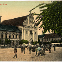 Régi váci képeslapok