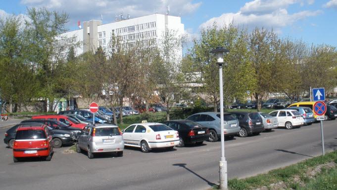A körparkoló 30-35 kocsi