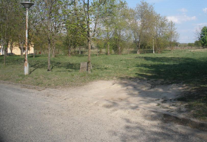 Parkolónak való hely