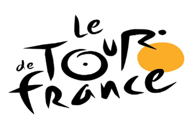 A Tour de France logójában pedig egy kerékpáros is teker