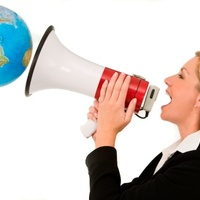 International language prarade held in Budapest