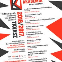 Pesti Bölcsész Akadémia - 2016/2017. tavaszi félév