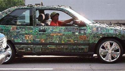A jövő autója - Photoshop
