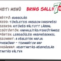 Bring Sally Up! - 7 napos challenge