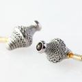 3D nyomtatott, titánium fülhallgató