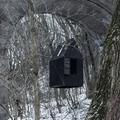 Fekete lebegő ház