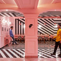 The Pink Zebra, szürreális étterem Indiában