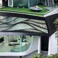 Elastica, futurisztikus otthon Indiában
