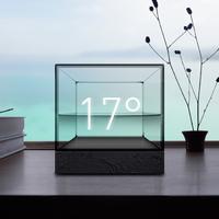 Az időjós üvegkocka