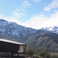 Menedékház az Andok hegyvonulataiközött