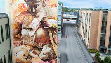Graffiti és az ókor találkozása