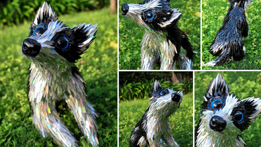 Állati szobrok CD-ből