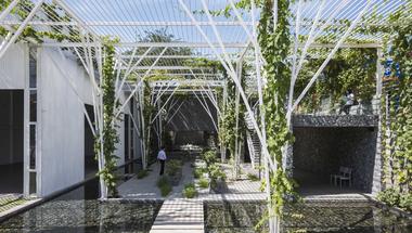 Közösségi kert Vietnamban