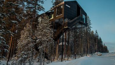 A svédországi Treehotel új lakosztálya
