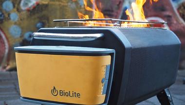 BioLite FirePit, tábortűz füstmentesen?