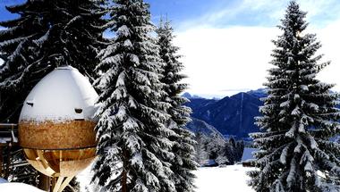 Pigna, faház az Alpokban
