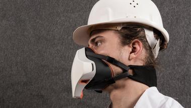 Használó-barát porvédő maszk