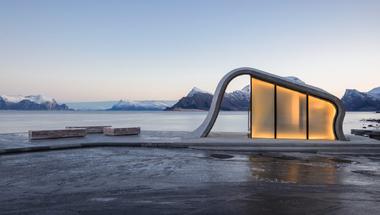 Uredd, turista pihenőhely Norvégiában