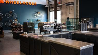 The Wheelhouse, kerékpárok és kávé