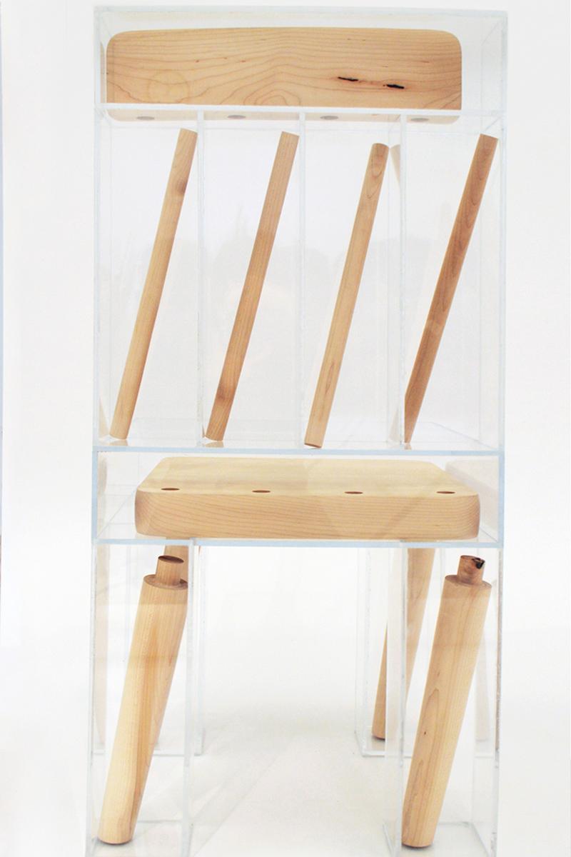 exploded chair joyce lin chaise blog espritdeisgn 2 Pink Lemur