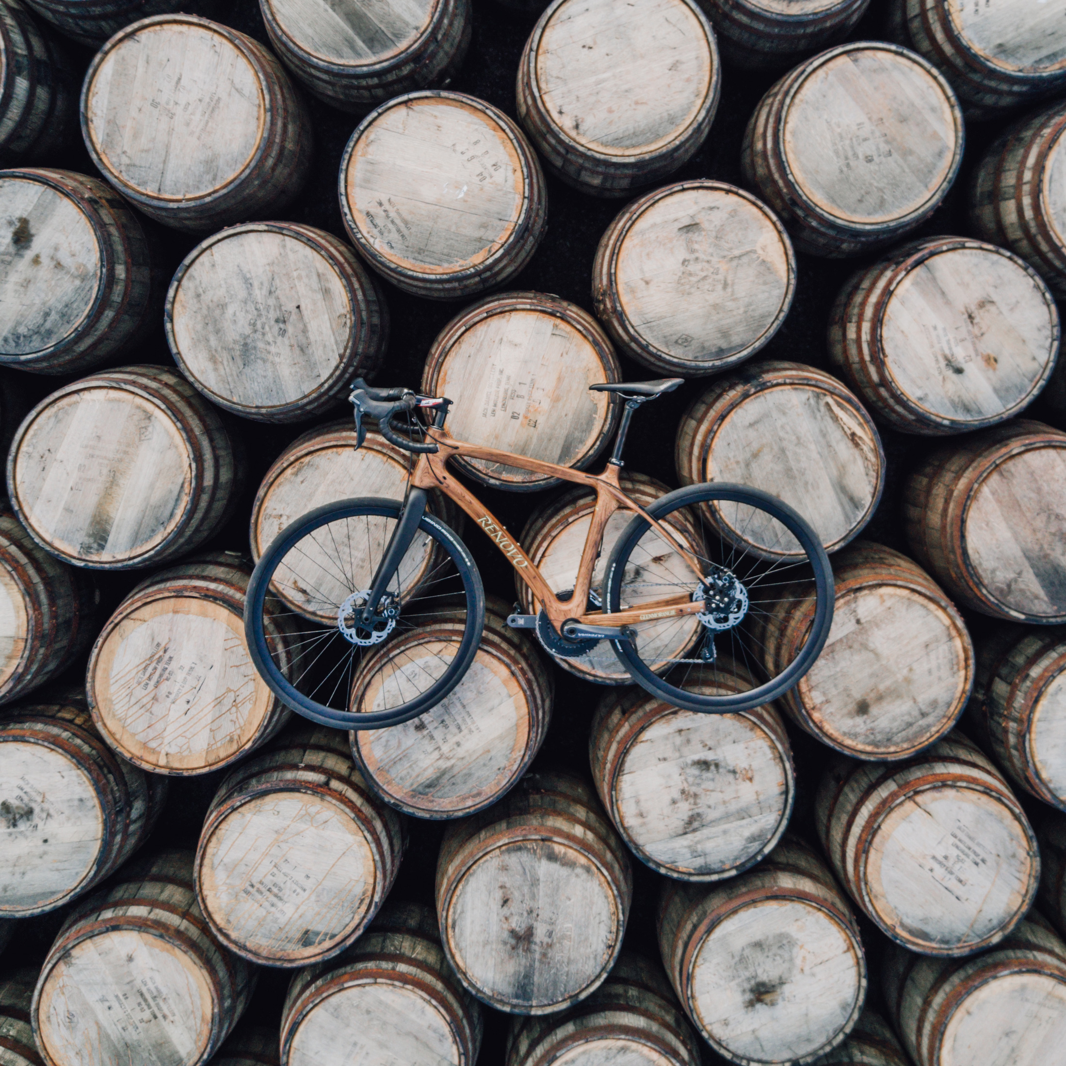 Renovo Bikes - kerékpár whiskys hordóból