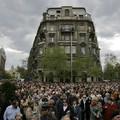 A Charta-tüntetésről