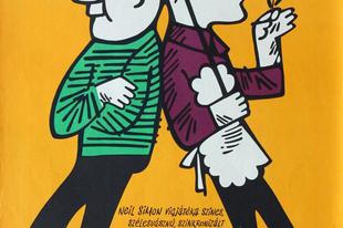 A legvidámabb barakk. Filmvígjáték plakátok. 1960-70.