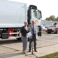 Új, környezetkímélő kukásautók érkeznek Budapestre
