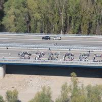 Hídünnep az új Móra Ferenc hídon