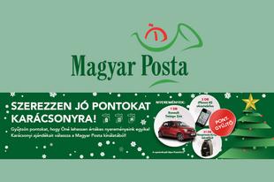 Karácsonyi nyereményjáték a Magyar Postával