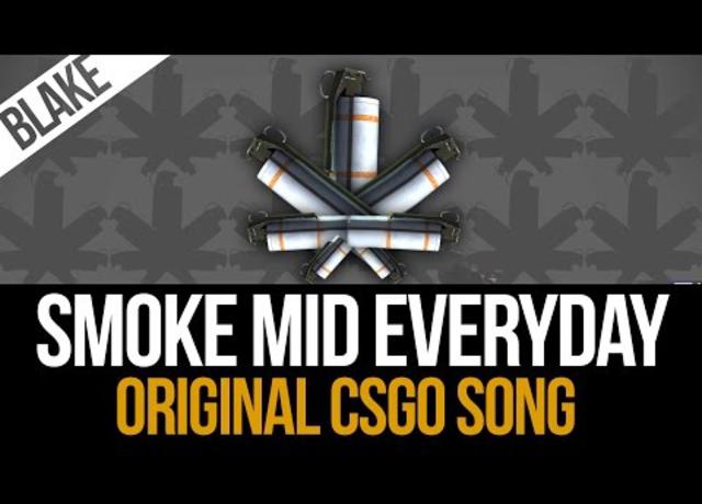 Egy őrült csinált egy Smoke mid everyday reggie számot CS:GO-ra