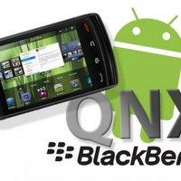 Androidos alkalmazások Blackberry rendszerekre