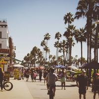10 elképesztő légifelvétel Venice Beach-ről