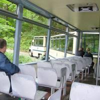 Kisvonat - busz, kinek hogy tetszik