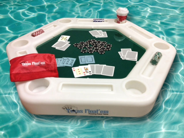 floating poker asztal