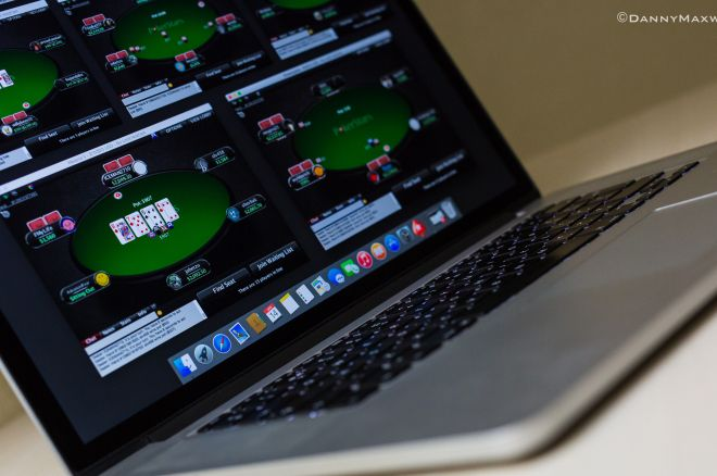 laptop online poker