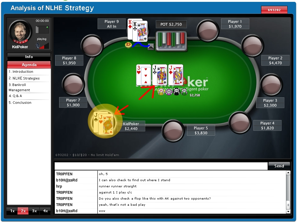online poker program