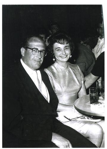 Doyle Brunson és a felesége, Louise jó pár évvel ezelőtt