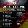 A német fociválogatott kerete napjainkban