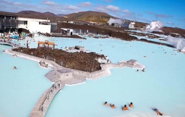 Izland csodálatos fürdője – a Blue Lagoon