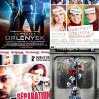 Premierfilmek a 34. héten