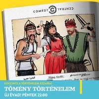 Folytatódnak a spicces történelmi mesék a Comedy Centralon
